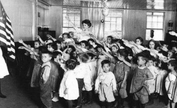 bellamy salute pledge