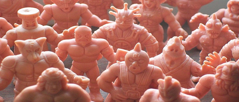 80s Toys : M.U.S.C.L.E. men
